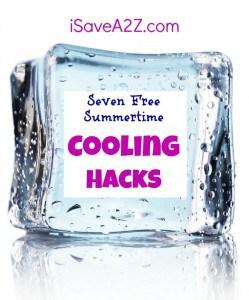 Seven Free Summertime Cooling Hacks