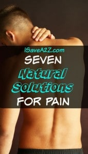 Seven Natural Solutions for Pain