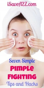 Seven Simple Pimple Fighting Tips and Hacks