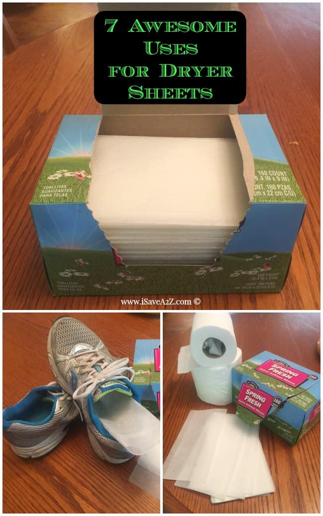 7 Awesome Uses For Dryer Sheets Isavea2z Com