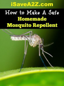 How to Make A Safe Homemade Mosquito Repellent