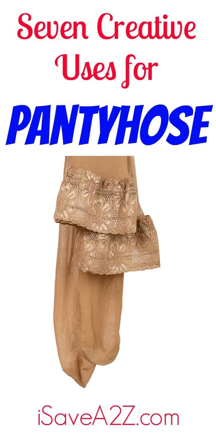 You will be amazed when you see all the creative uses for pantyhose that are out there. Here are seven of the coolest.