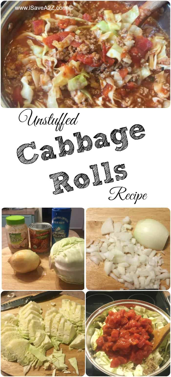 Unstuffed Cabbage Rolls Recipe