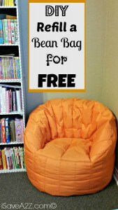 16286ac68bb5 Refill a Bean Bag For Free!! Simple DIY Project!