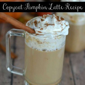 Copycat Pumpkin Latte Recipe