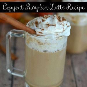 Copycat Pumpkin Latte Recipe
