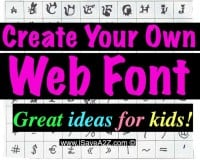 How To Create Your Own Web Font