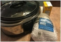 Crockpot Chicken Meal Idea with Honeysuckle White Turkey!
