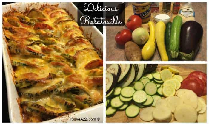 Delicious Ratatouille Recipe - iSaveA2Z.com