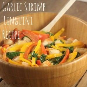 Garlic Shrimp Linguini Recipe