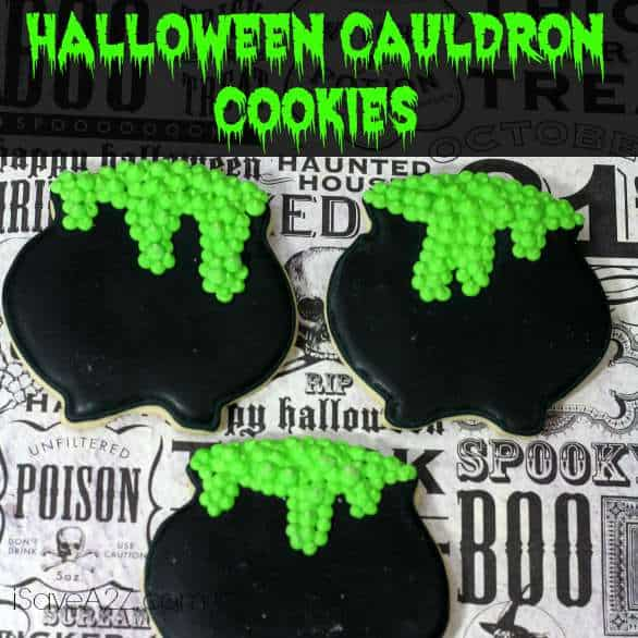 Halloween Cauldron Cookies Isavea2z Com