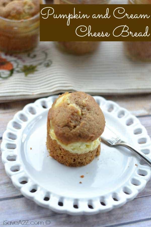Pumpkin and Cream Cheese Bread