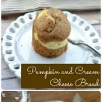 Pumpkin and Cream Cheese Bread
