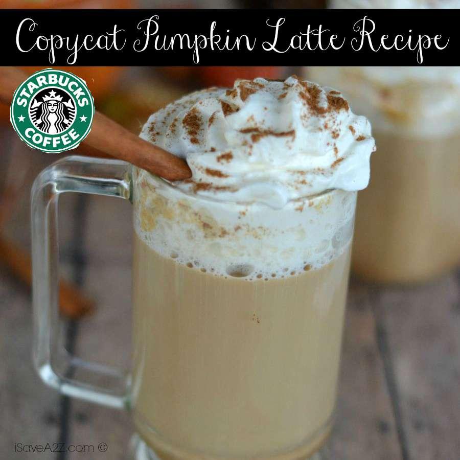 Starbucks Copycat Pumpkin Latte Recipe