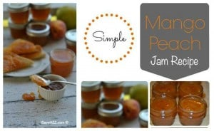 Easy Mango Peach Jam Recipe