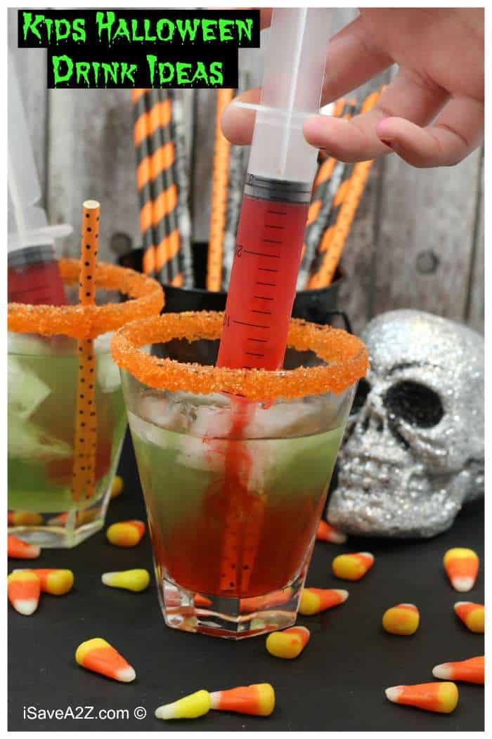 kids halloween drink ideas