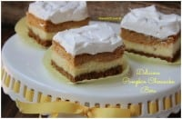 Easy Pumpkin Cheesecake Bars Recipe