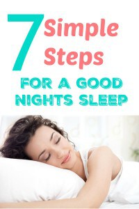 7 Simple Tips for Great Sleep