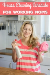 These house cleaning schedule tips for working moms will help find what works for you and your family dynamic. From one mom to another mom...you got this!