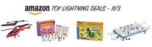 Amazon Toy Lightning Deals – 11/3