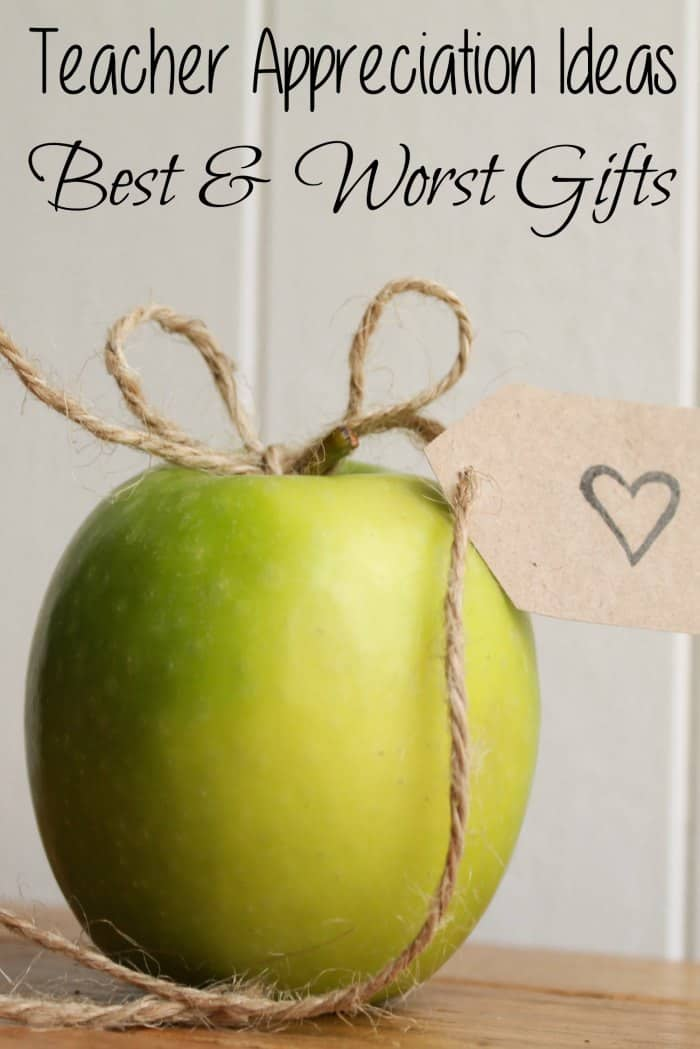 Teacher Appreciation Ideas – Best & Worst Gifts - iSaveA2Z.com