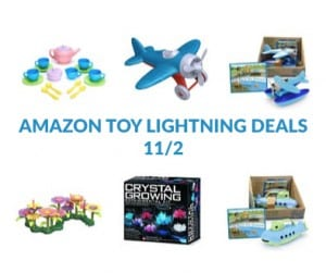 Amazon Toy Lightning Deals For 11/2