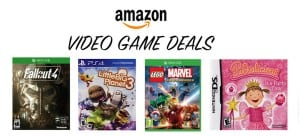 Round Up Of the Best Amazon Video Game Deals