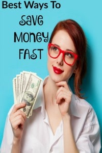 Best Ways to Save Money Fast