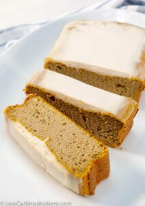 This keto pumpkin bread recipe is full of warm fall spices and delicious pumpkin flavors. You won't be able to hold yourself back with just one piece!