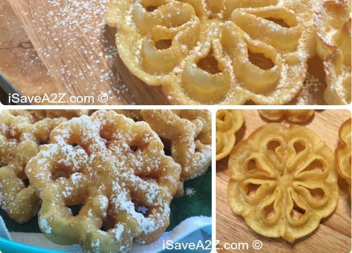 Easy Rosettes Cookie Recipe - iSaveA2Z.com