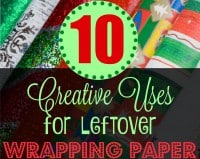 10 Creative Uses for Leftover Wrapping Paper