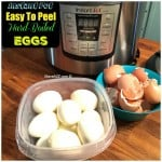 Perfect Hard-Boiled Eggs in the Electric Pressure Cooker