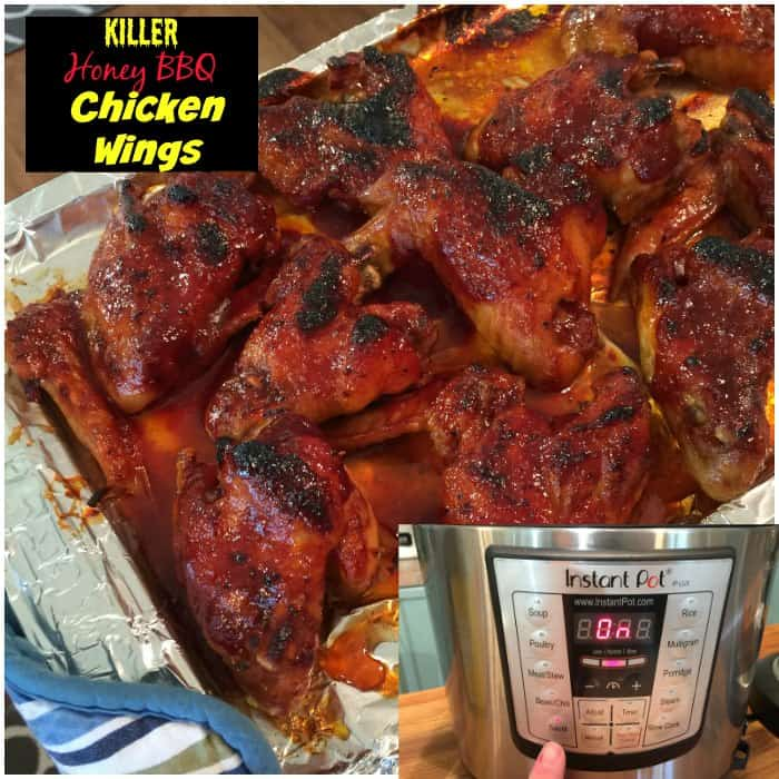 Instant Pot Recipes: Honey BBQ Wings made in an Electric Pressure ...