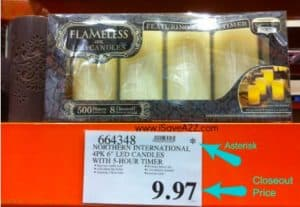 How to read the tags at Costco to find good deals
