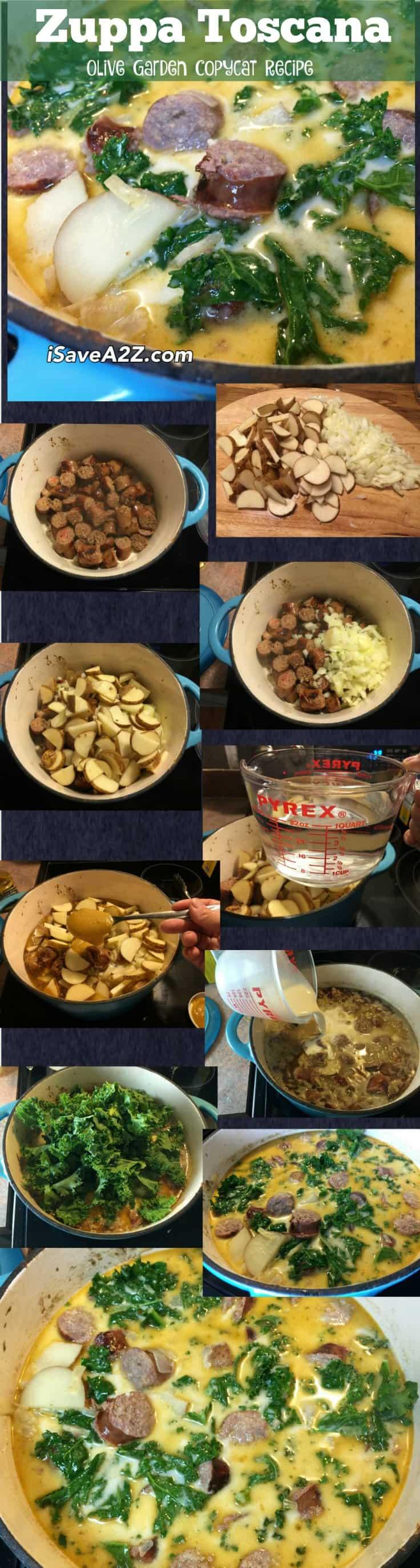 Zuppa Toscana Olive Garden Copycat Recipe