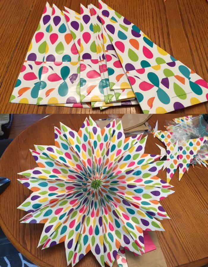 Easy Paper Bag Stars Isavea2z Com