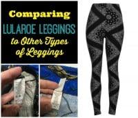 Comparing Lularoe Leggings to Other Leggings