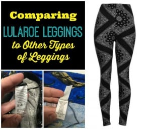 Comparing Lularoe Leggings to Other Leggings