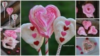 Easy Meringue Heart Cookies Recipe