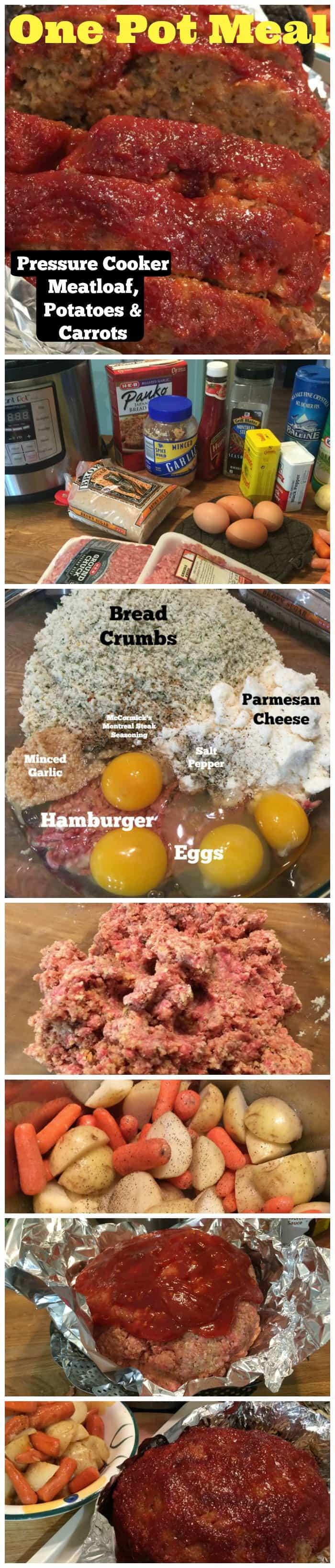 Pressure Cooker Meatloaf Recipe