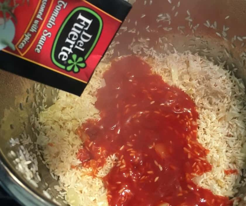 Pressure Cooker Recipe for Mexican Rice
