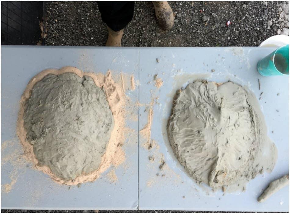 how to make perfect concrete mix