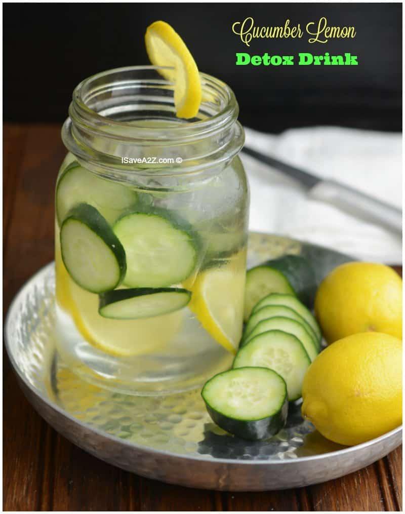 Cucumber Lemon Detox Drink