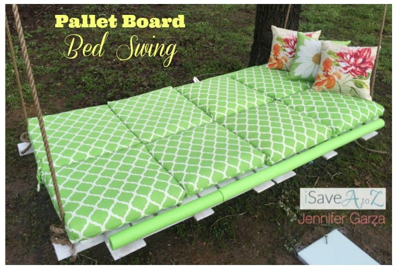 DIY Pallet Board Bed Swing Tutorial