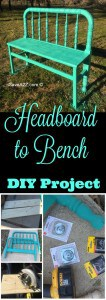 Headboard to Bench DIY Project