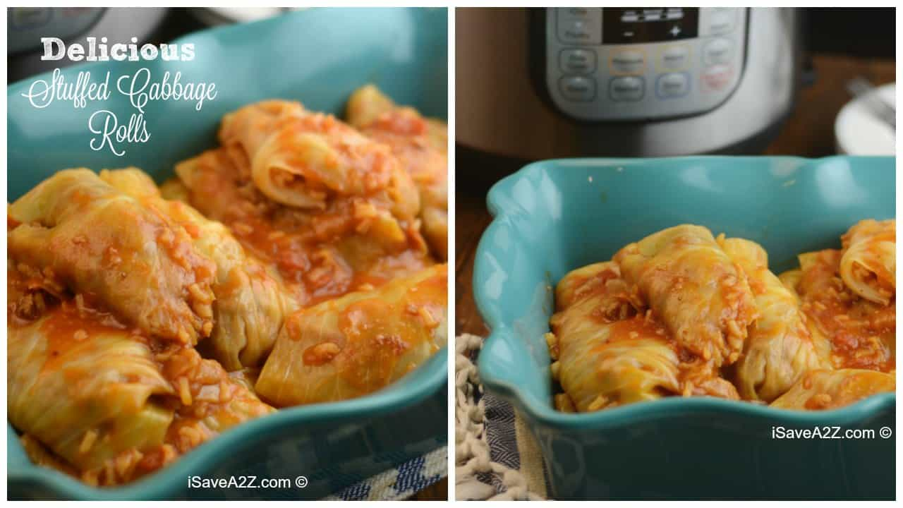Pressure Cooker Stuffed Cabbage Rolls Recipe