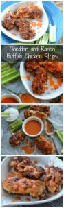 Cheddar and Ranch Buffalo Chicken Strips