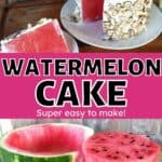 Watermelon cake recipe