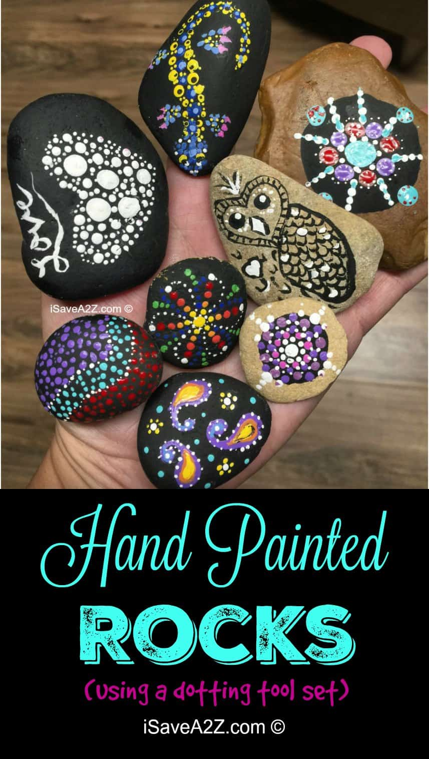 Hand Painted Rock Design Ideas