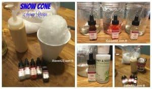 Homemade Snow Cone Syrup Recipe